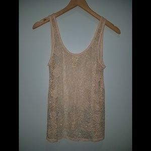 BUCKLE DAYTRIP Lace Embellished Tank Top